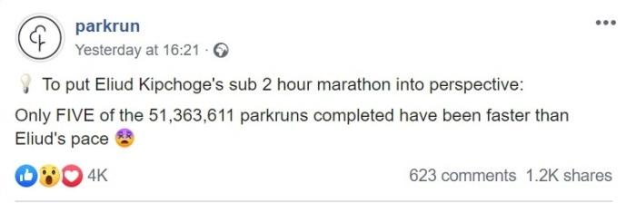 parkrun fact