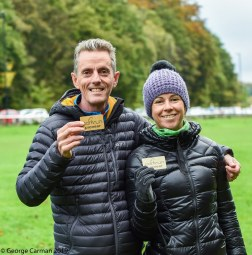 parkrun pioneers with gold barcodes