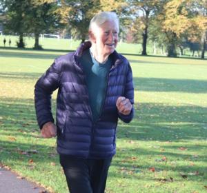 Roger parkrun debut at 92